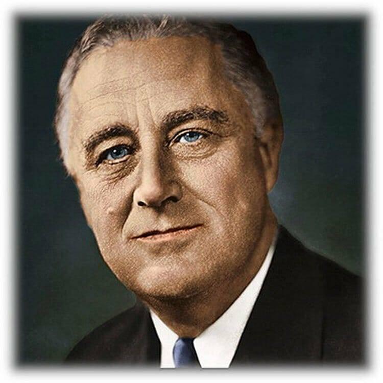 Франклин рузвельт - биография, факты, фото
