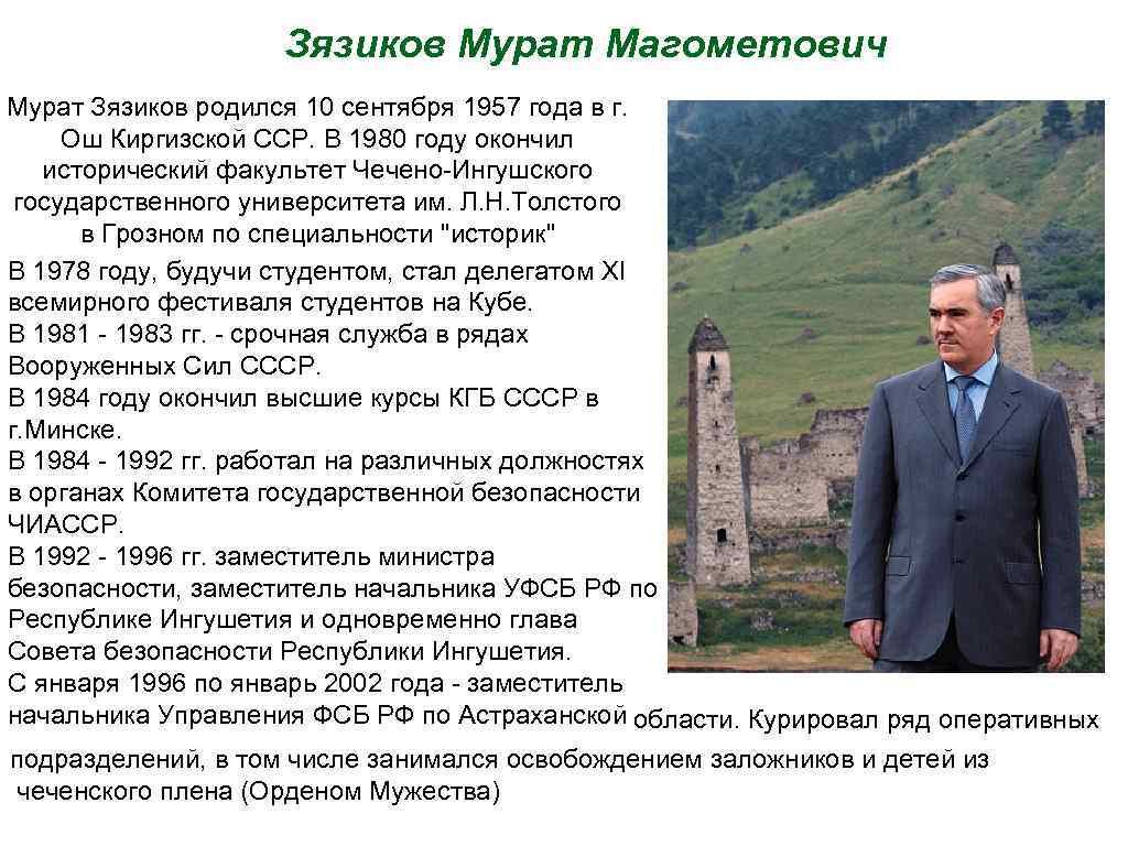 Зязиков Мурат Магометович