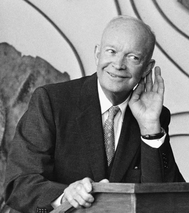Дуайт дэвид эйзенхауэр, президент сша (1890–1969). 100 великих политиков