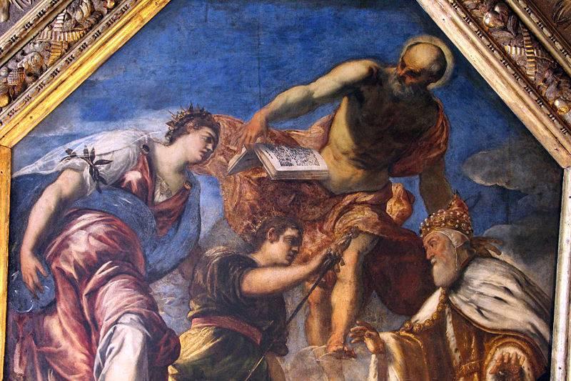 Якопо тинторетто (1518–1594)