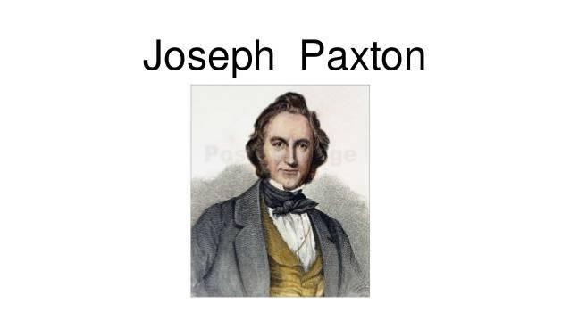 Пакстон, джозеф - вики