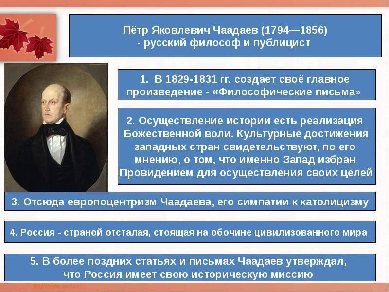 Чаадаев Петр Яковлевич