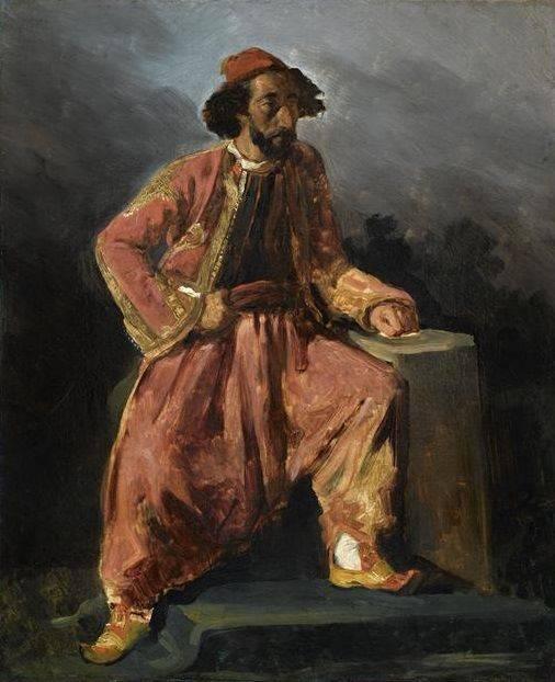 Эжен делакруа (1798–1863)