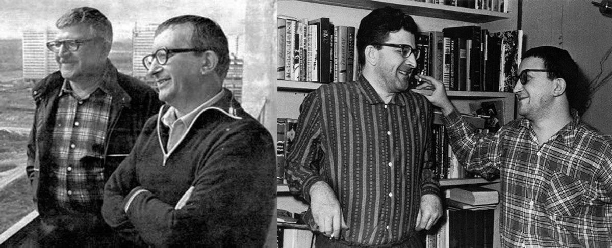 Биография, творчество и книги писателей братьев стругацких кратко