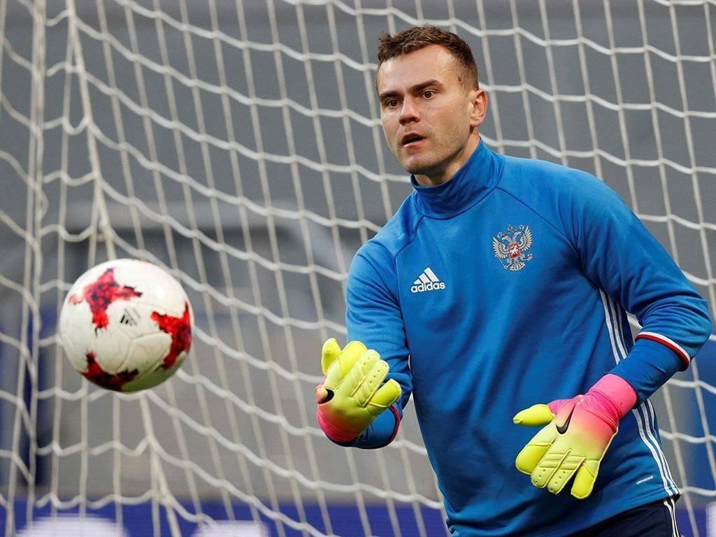 Футболист игорь акинфеев: биография, личная жизнь, спортивная карьера