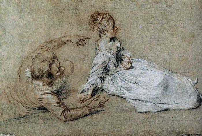 Антуан ватто — краткая биография
