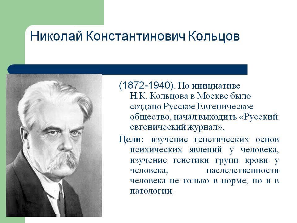 Кольцов Николай Константинович