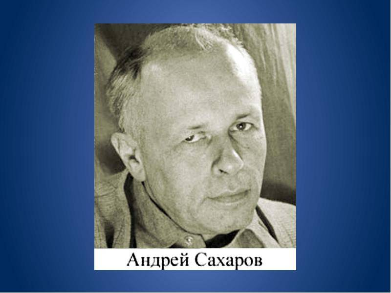 Биография андрея сахарова: детство, научная деятельность академика, личная жизнь