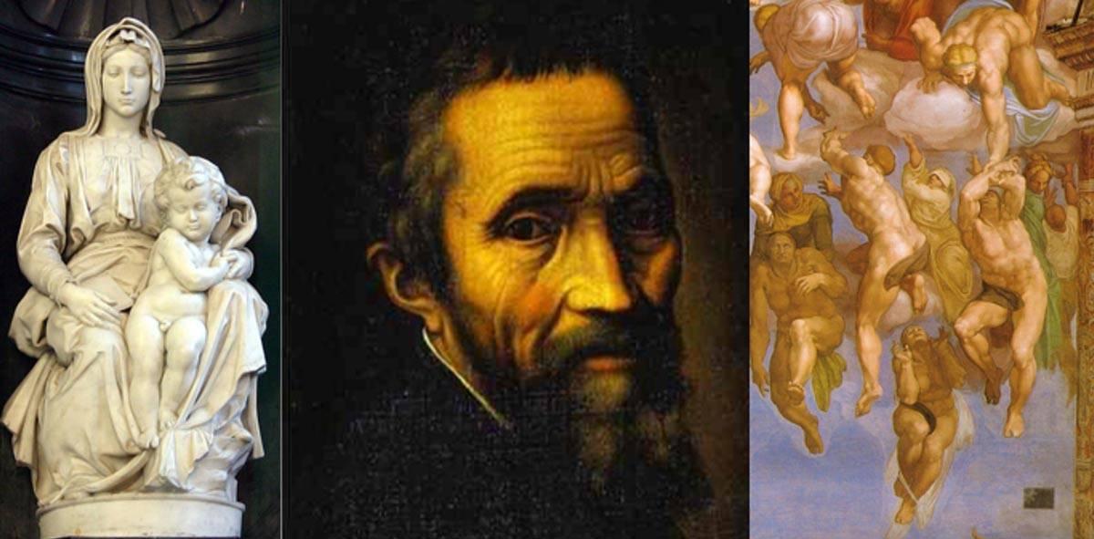 Микеланджело — величайший в мире скульптор: биография и произведения итальянского художника
