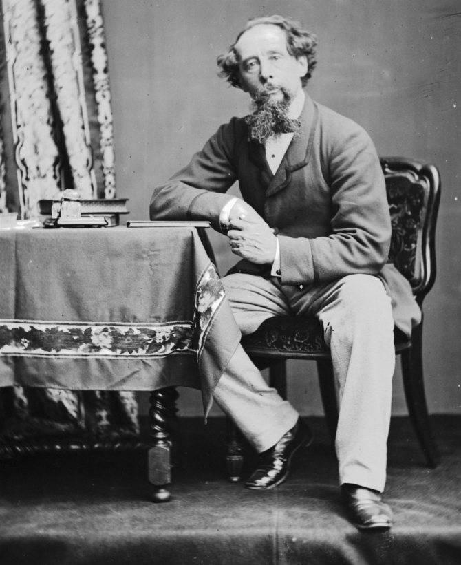 Писатель чарльз диккенс - биография британского литератора, история английского автора   charles dickens - книги, произведения, фото