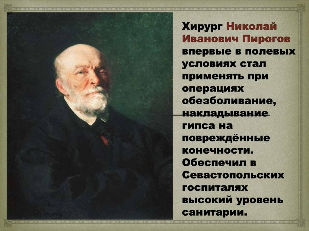 Пирогов николай иванович - исторические личности в медицине