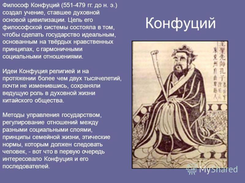 Конфуций (Кун Цю)