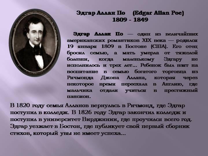 Читать бесплатно электронную книгу сборник «рассказы» 1845. эдгар аллан по онлайн. скачать в fb2, epub, mobi - librebook.me