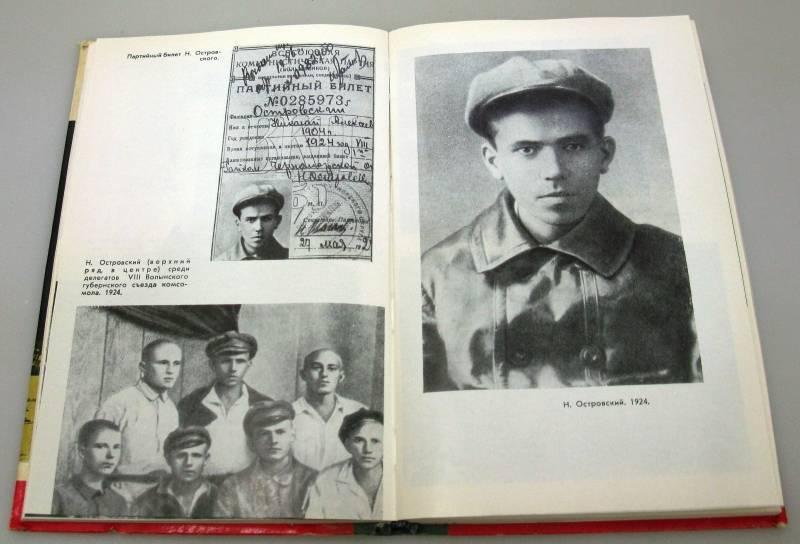 Николай островский — краткая биография