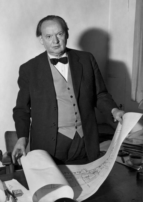 Шарун, ганс бернхард биография, 1893—1924 годы, 1925—1932 годы, 1933—1945 годы