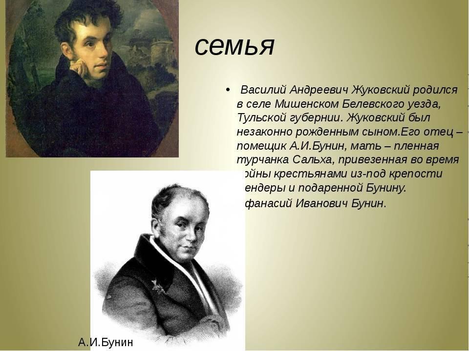 Василий жуковский - биография, личная жизнь, фото