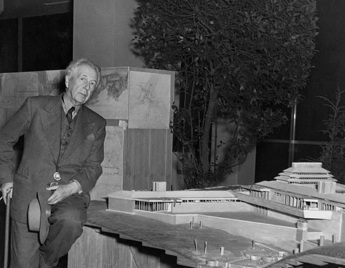 Биография — райт франк ллойд - музей арт-рисунок