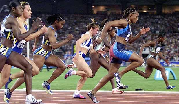Мэрион джонс. 100 великих олимпийских чемпионов