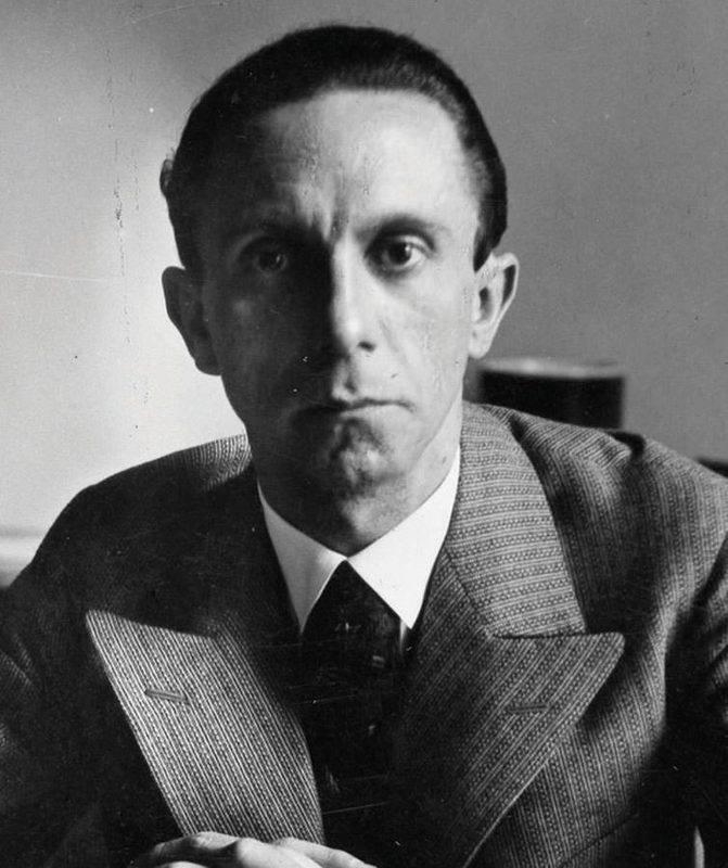 Йозеф геббельс — биография начальника фашистской пропаганды   исторический документ
