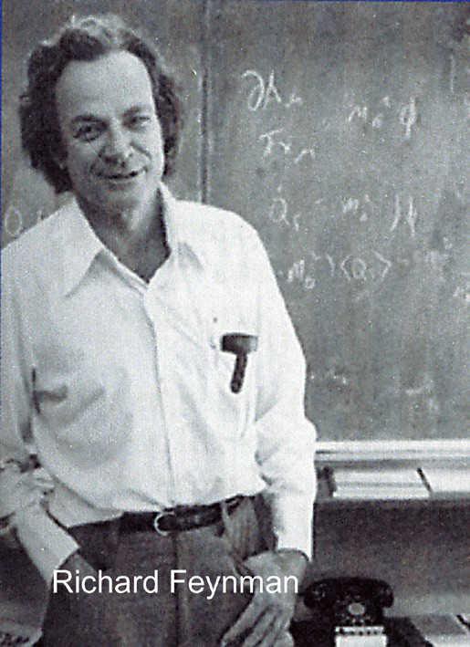 Шутник ричард фейнман