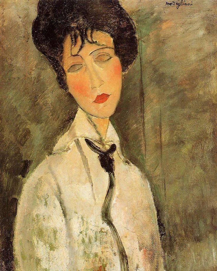 Амедео модильяни - 369 картин   экспрессионизм   artsviewer.com