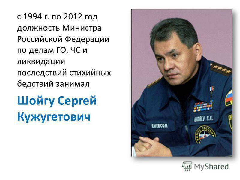 Министр обороны сергей шойгу подал заявление об отставке со всем правительством : политика на портале newsland