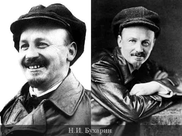 Бухарин николай иванович (краткая биография)
