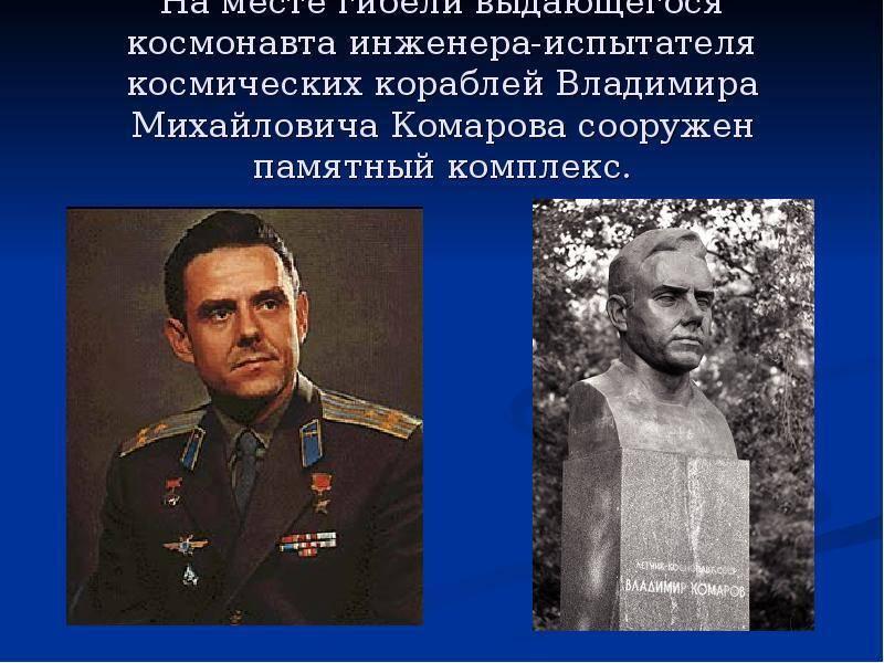 «не я, так гагарин». трагическая история легендарного советского космонавта владимира комарова - мы из советского союза - медиаплатформа миртесен