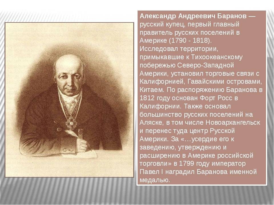 Биография Александра Баранова