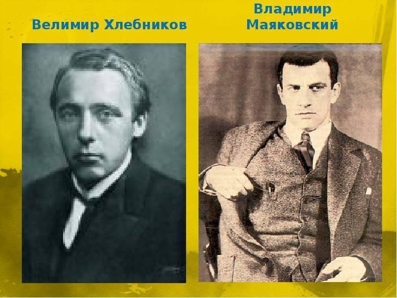 Краткая биография поэта велимира хлебникова