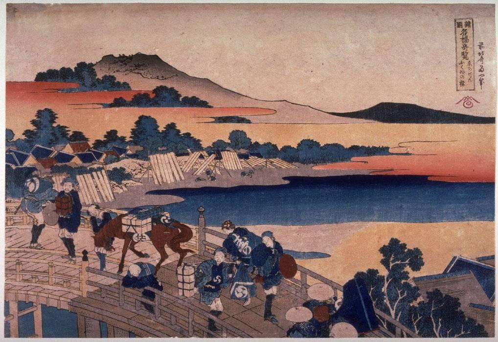 Кацусика хокусай. биография и гравюры хокусая