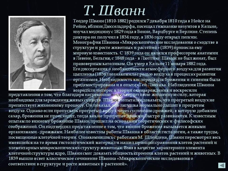 Теодор шванн