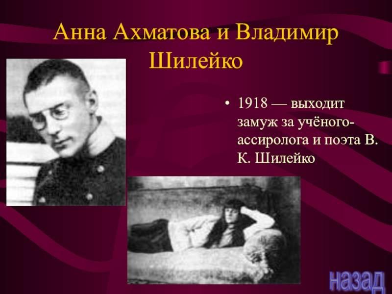 Владимир шилейко — русская поэзия «серебряного века»