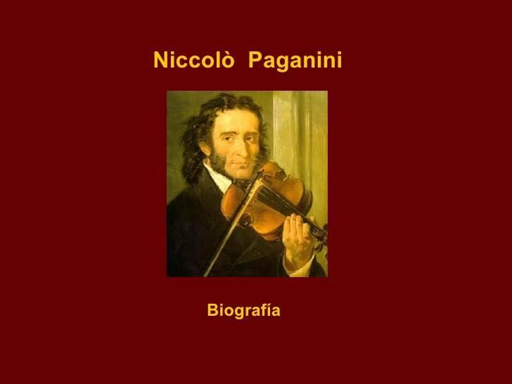 Никколо паганини – биография, фото, личная жизнь, произведения - 24сми