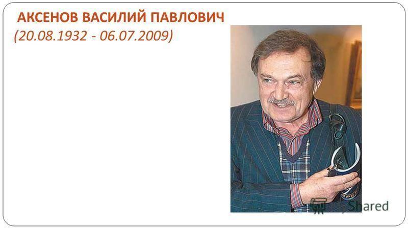 Аксёнов, василий иванович