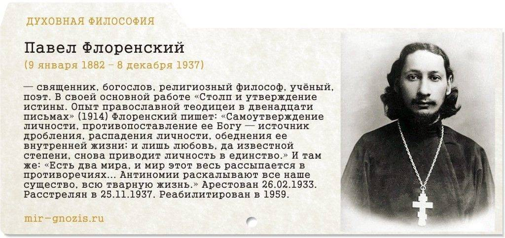 Флоренский Павел Александрович