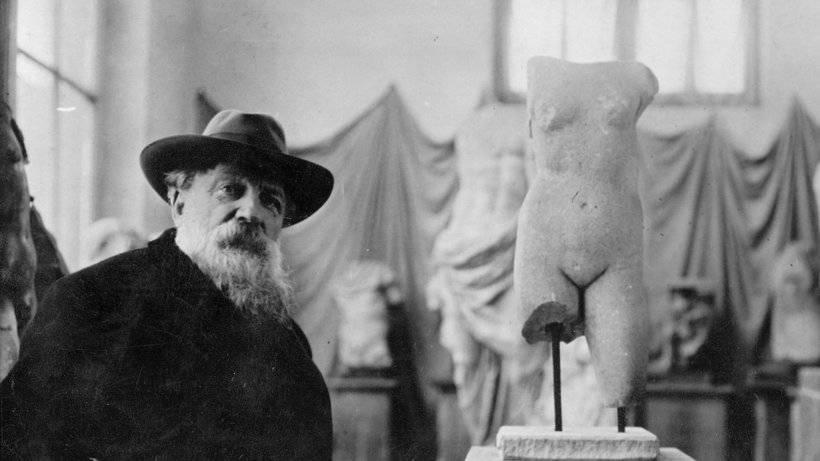 Скульптуры родена: фото с описанием