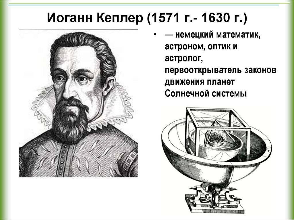 Кеплер, иоганн — википедия
