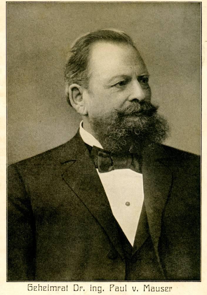 Маузер, вильгельм — википедия