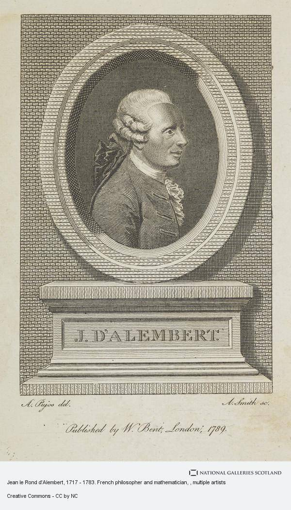 Жан лерон д'аламбер