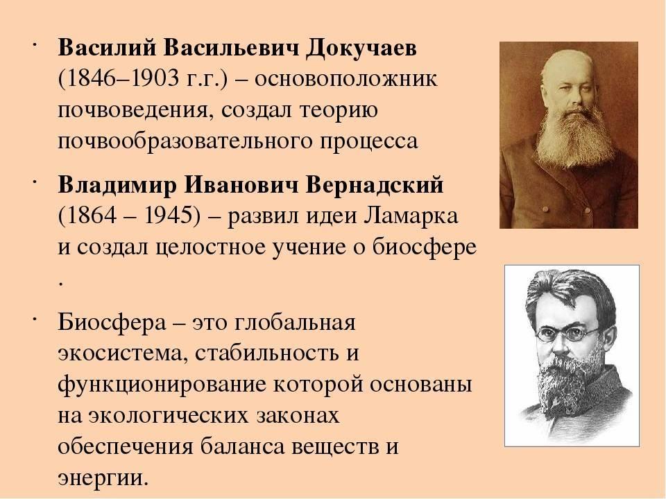 Василий докучаев биография и интересные факты. биография василия докучаева
