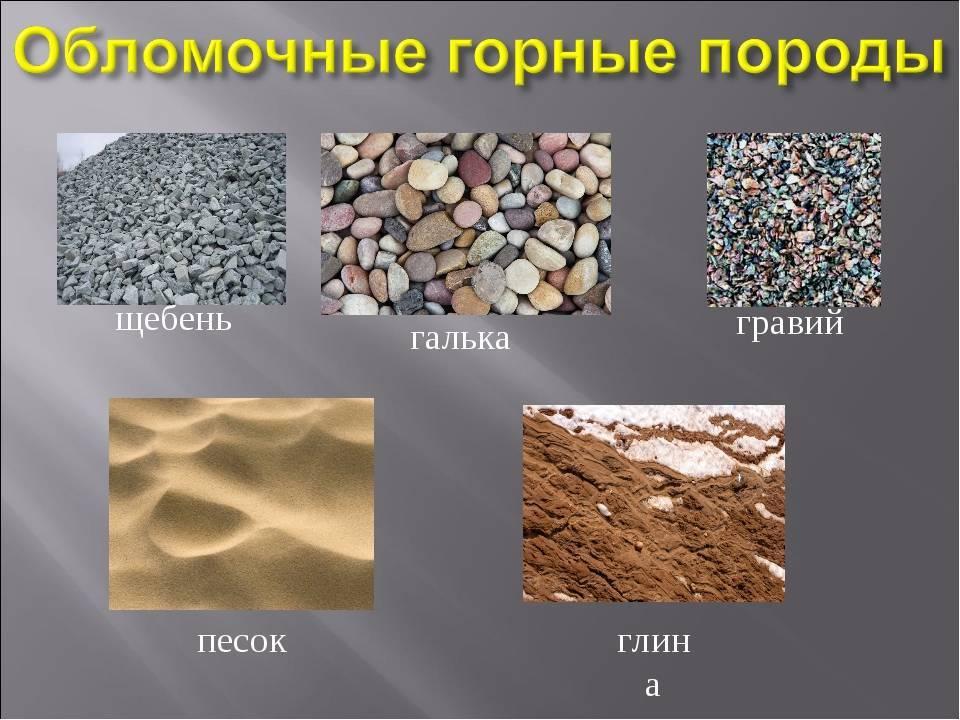 Песок карьерный, щебень, гравий