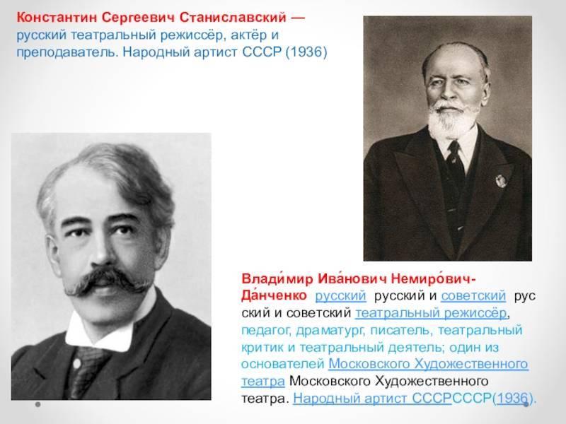 Станиславский, константин сергеевич