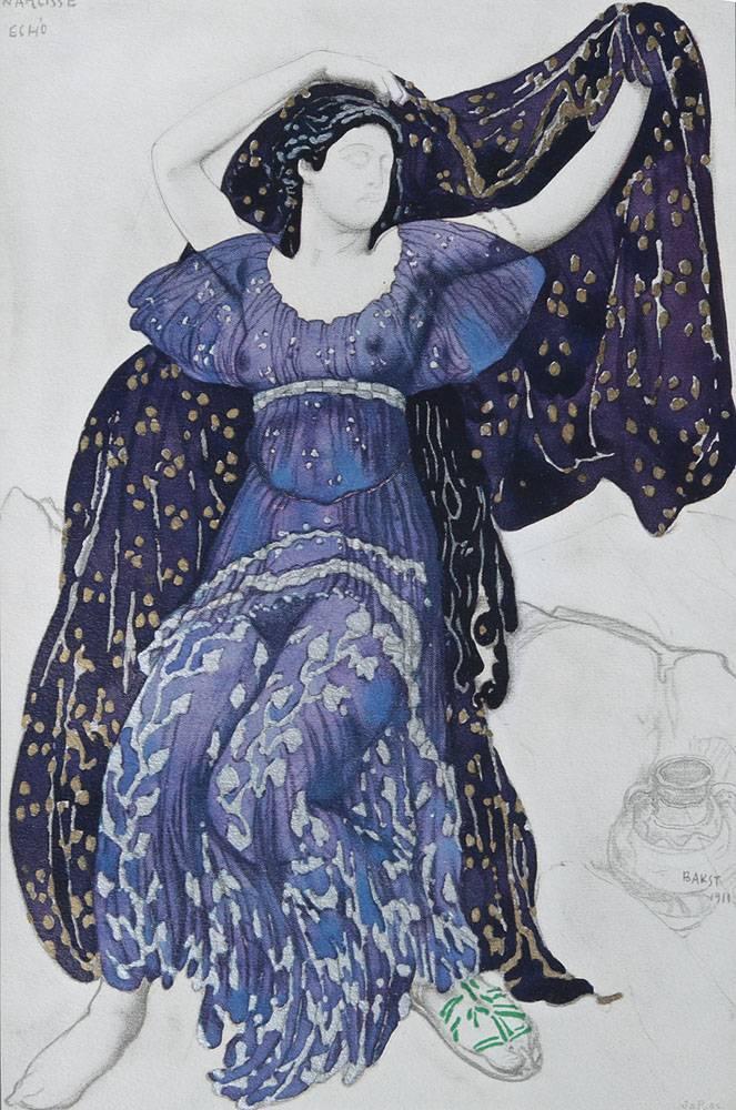 Истории вещей. разгадываем тайну эскиза леона бакста из бахрушинского музея