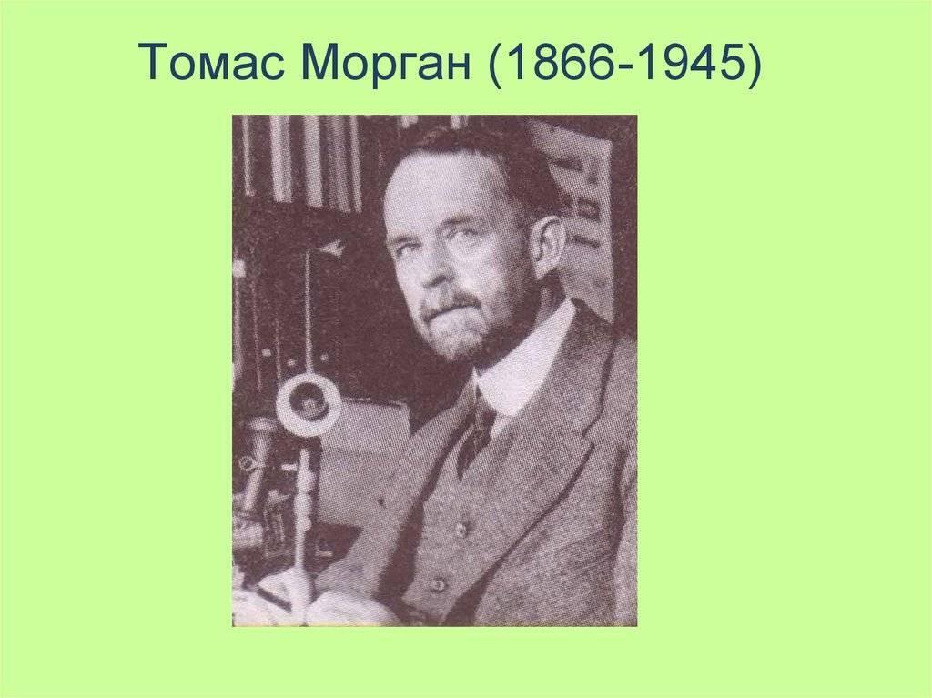 Морган, томас хант — википедия