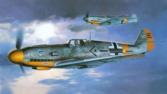 Какой могла стать вершина эволюции знаменитого мессера или messerschmitt bf.109 с двигателем daimler-benz db-619c - альтернативная история